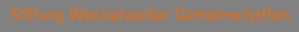 Stiftung Weckelweiler Gemeinschaften
